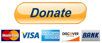 Donate Button Image with 5 Credit Cards